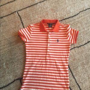 Ralph Lauren polo shirt size medium slim fit